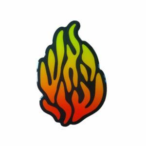 מדבקה האש שלי 2